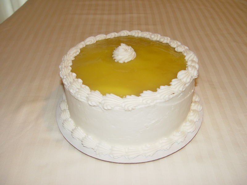 Lemon Cake with filling