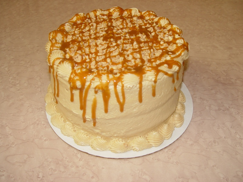 Caramel Toffee with Caramel Buttercream