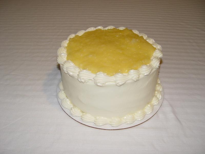 Pineapple Layer Cake